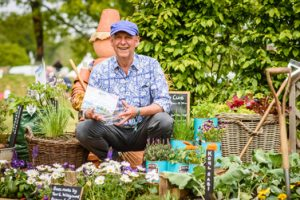 Pic credit BBC GW Spring Fair_ Patrick Fairweathers in Best Beautiful Border Patrick's Patch, designed by Rachel Foster