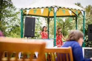 Pic credit BBC GW Spring Fair_Polkadot's at the Bandstand at the BBC Good Food Market