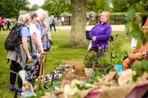 Pic credit BBC GW Spring Fair_Visitors enjoying Patrick's Patch